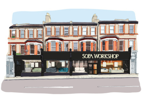 Sofa workshop battersea london greater london london for Designer furniture shops london