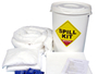 65 Litre Oil and Fuel Performance Spill Kit in Plastic Drum