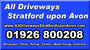 All Driveways Stratford upon Avon