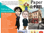 Paper & Pixel Creative | Cartoonist and Illustrator in London