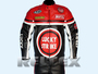 Lucky Strike Red Black Motorcycle 2 Piece Suit