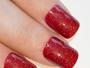 Valentina Gel Red French False Gel Nails