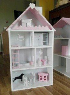 Handmade Wooden Doll House Furniture