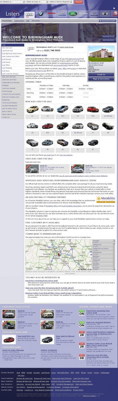Birmingham Audi