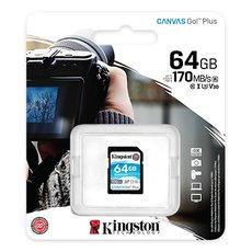 Kingston 64GB Canvas Go Plus SD Card