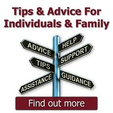 Advice For Individuals & Families
