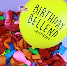 BIRTHDAY BELLEND BALLOONS