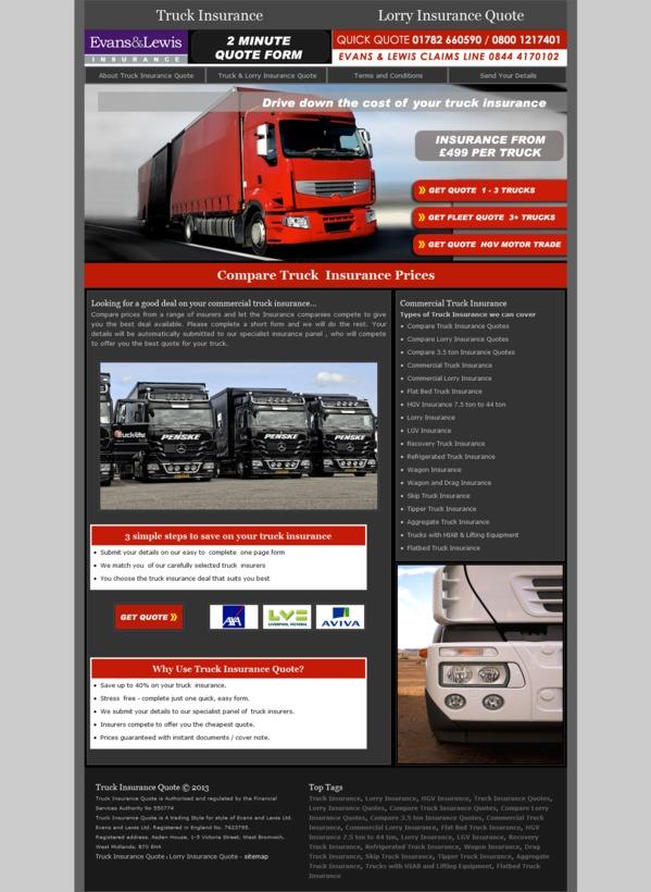 94c0166eb6 • Evans and Lewis Insurance • Newcastle under Lyme • Staffordshire - West  Midlands - England • truckinsurancequote.co.uk