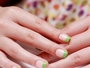 Go Green French False Nails