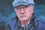 Portrait painting by Stuart J Pearce